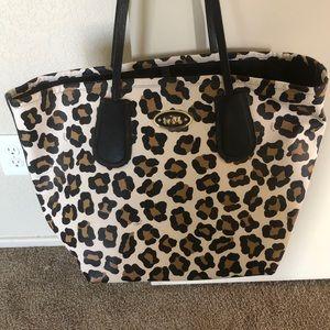 AUTHENTIC COACH Cheetah Tote